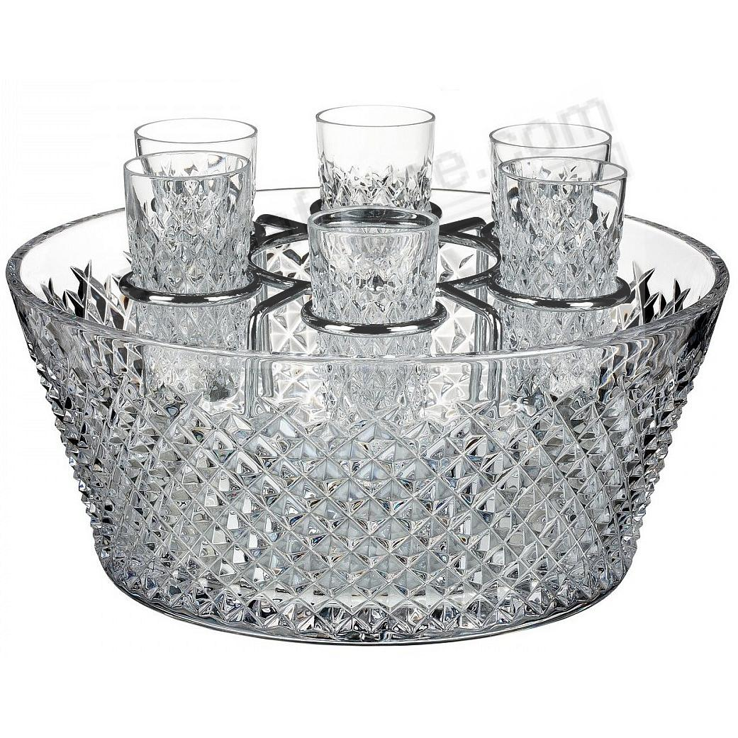 ALANA 60th Anniversary Vodka Chiller with 6 Shot Glasses - Limited Edition of 260 - by House of Waterford®