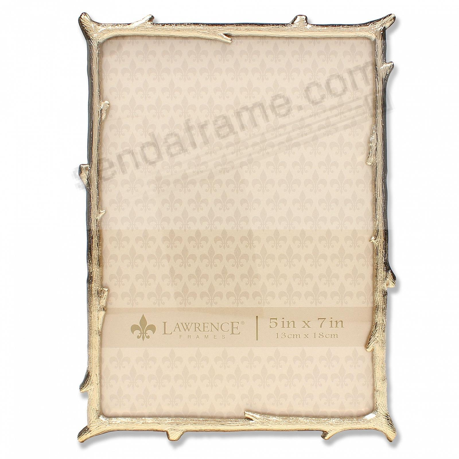 Gold Metal Frame Natural Branch Motif Frame by Lawrence®