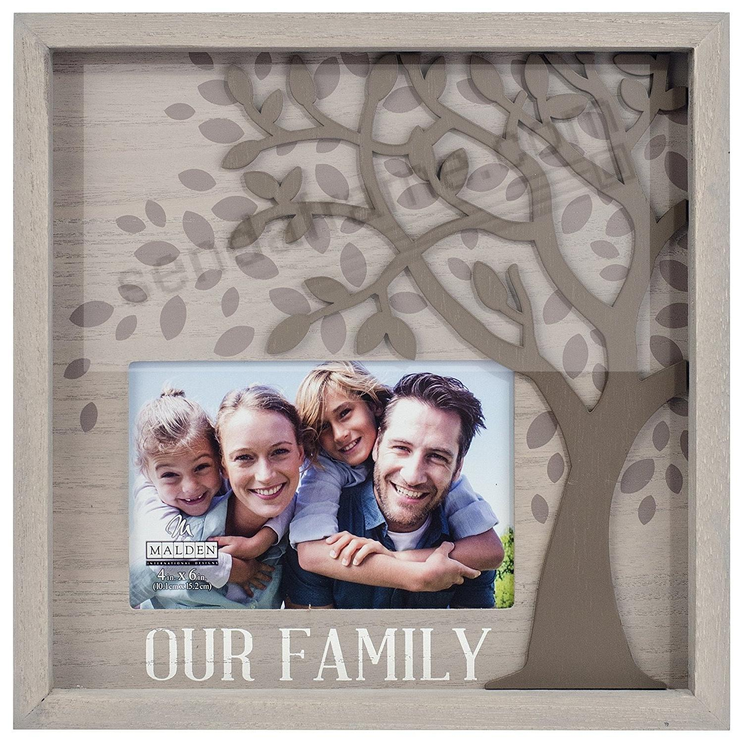 OUR FAMIILY Frame Decor by Malden®