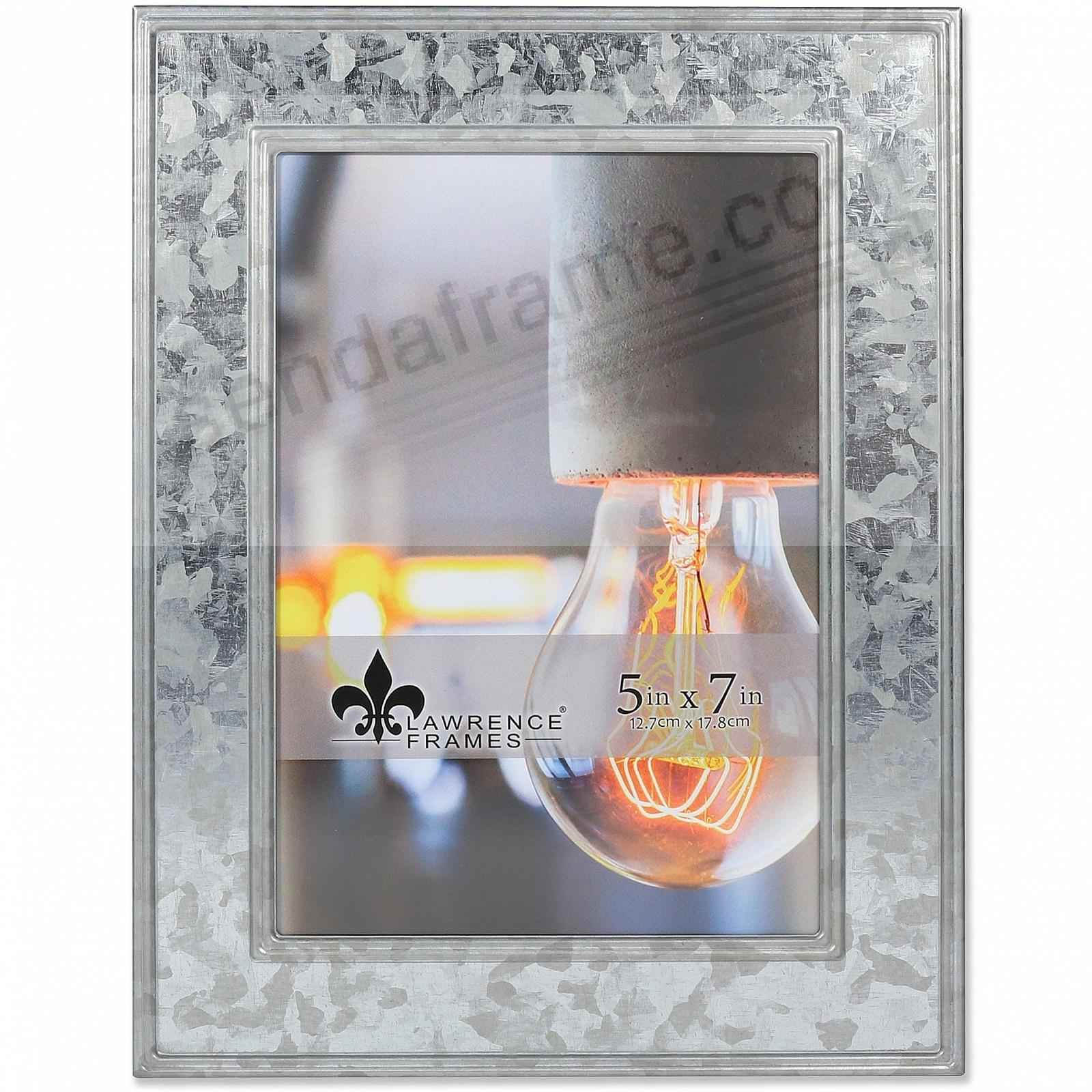 CLARRA GALVANIZED METALLIC frame by Lawrence®