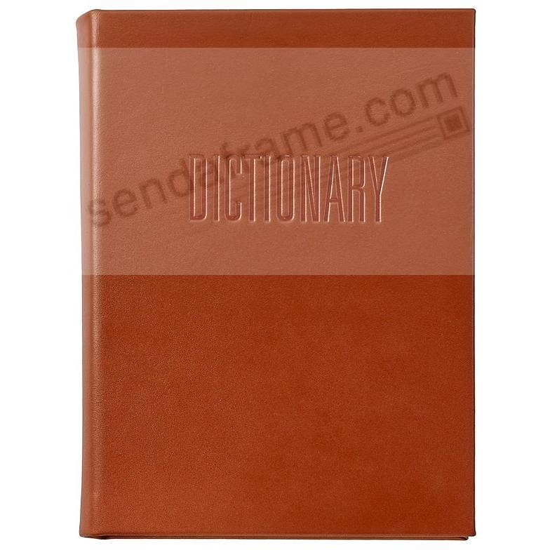 Merriam-Webster Collegiate DICTIONARY RED Vachetta Leather by Graphic Image®