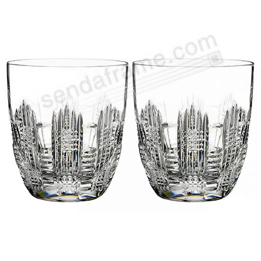 DUNGARVAN Double Old Fashioned Pair (DOF) Style by Waterford® (set of 2)