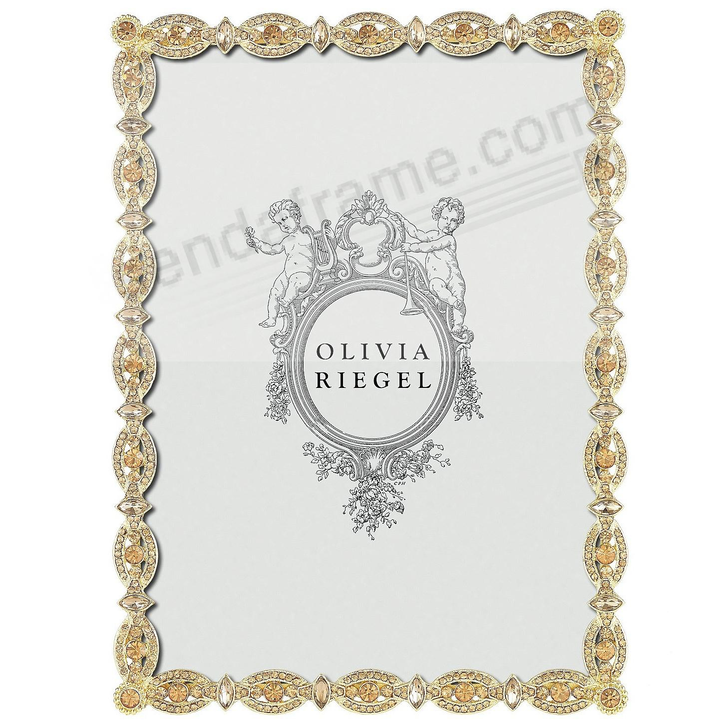 NORA Crystal and Topaz 5x7 frame by Olivia Riegel®
