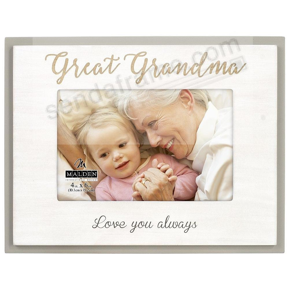GREAT GRANDMA Love You Always keepsake frame
