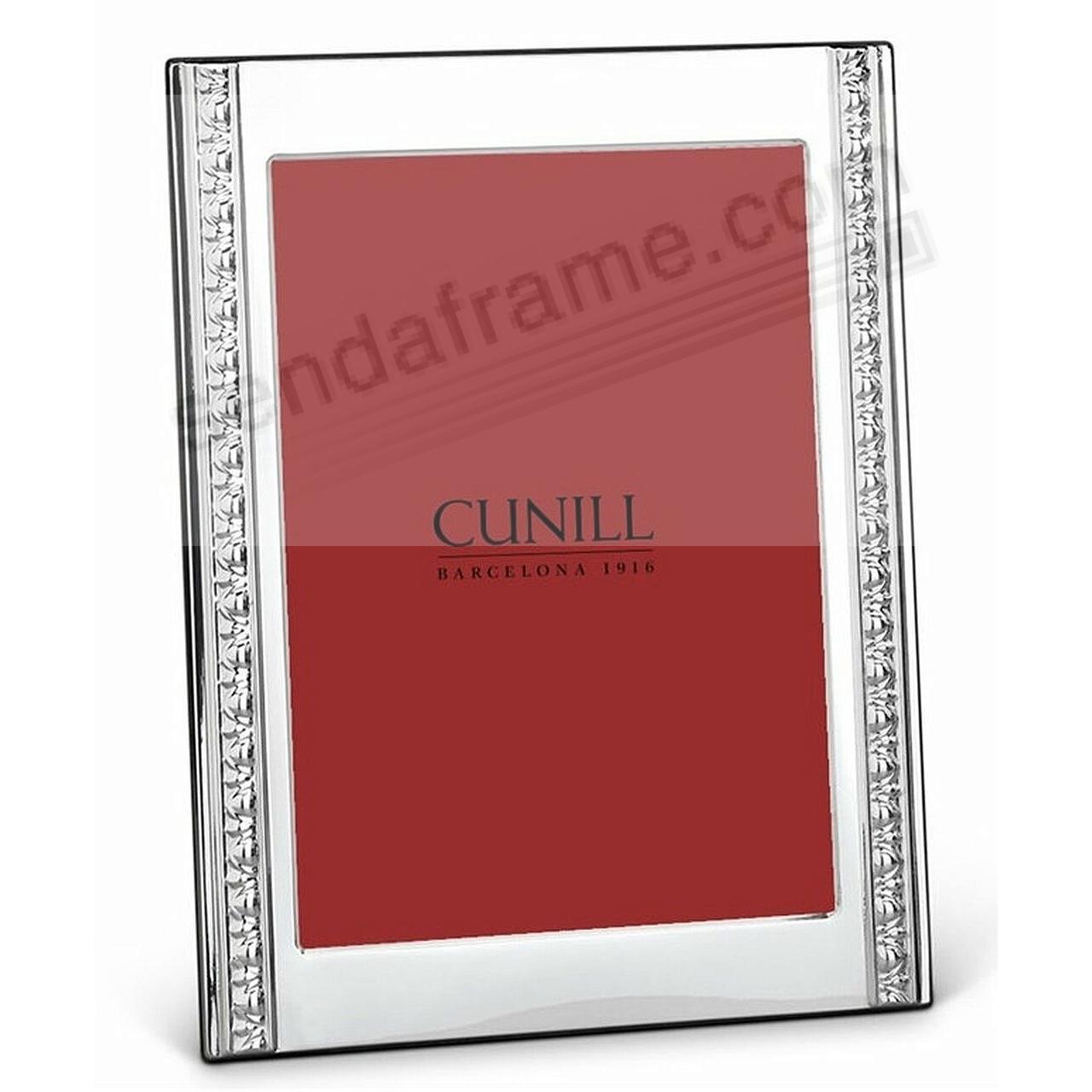RENAISSANCE Fine Sterling Silver 4x6 Frame by Cunill®