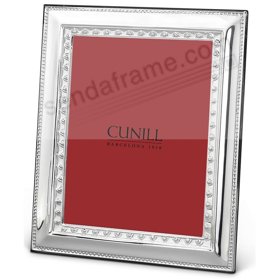 Fine .925 Sterling Silver IMPERIAL 5x7 frame<br>by Cunill®