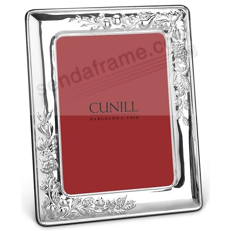 VINEYARD pure Sterling Silver luxe 8x10/7x9 frame<br>by Cunill®