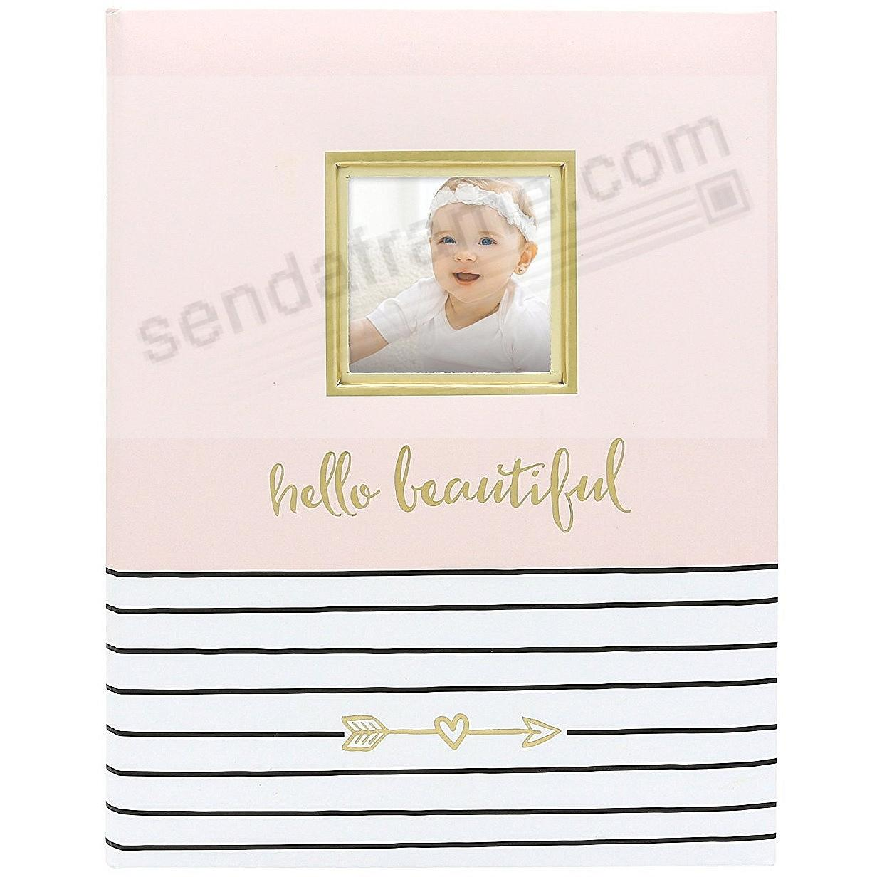 HELLO BEAUTIFUL BABY MEMORY BOOK by PEARHEAD®