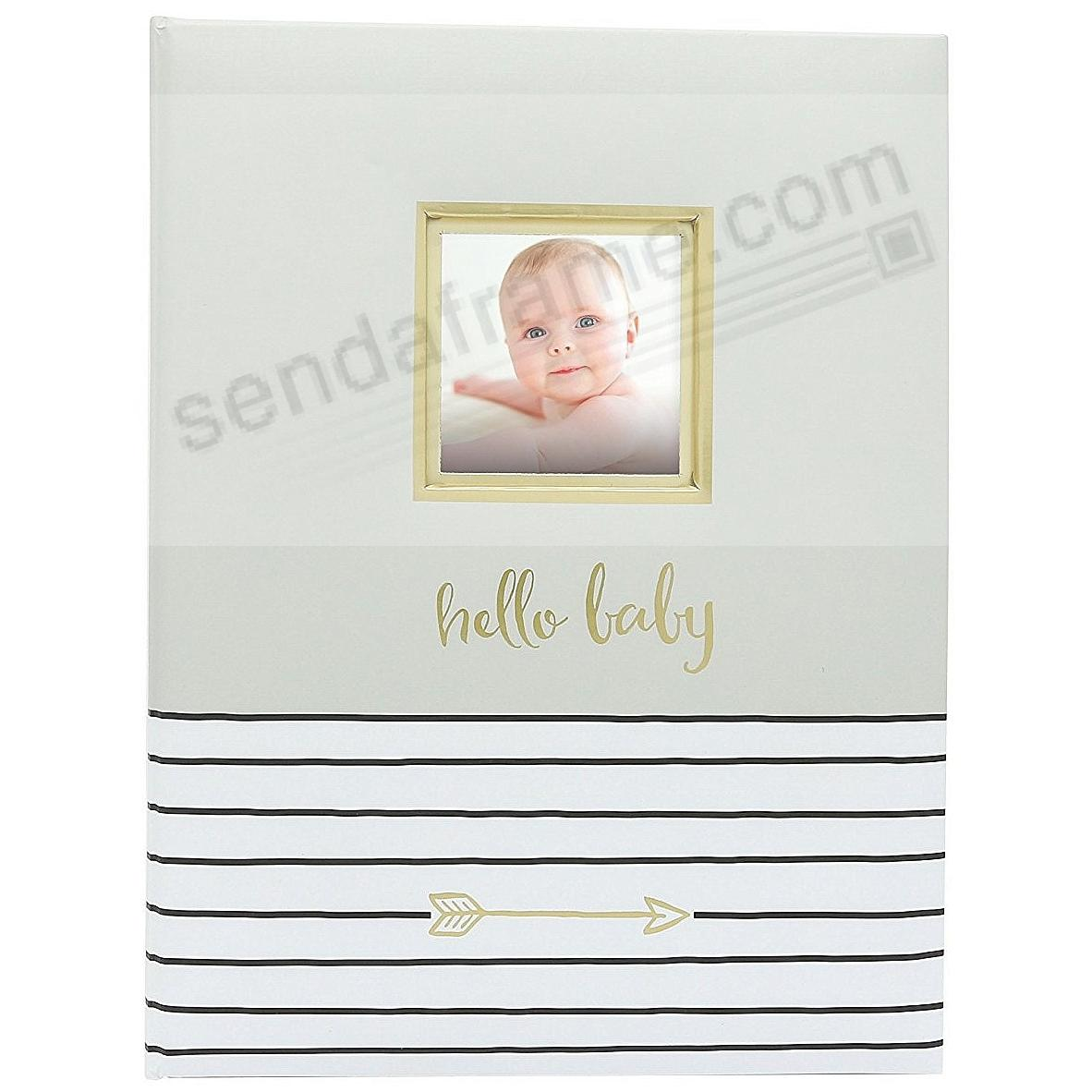 HELLO BABY MEMORY BOOK by PEARHEAD®