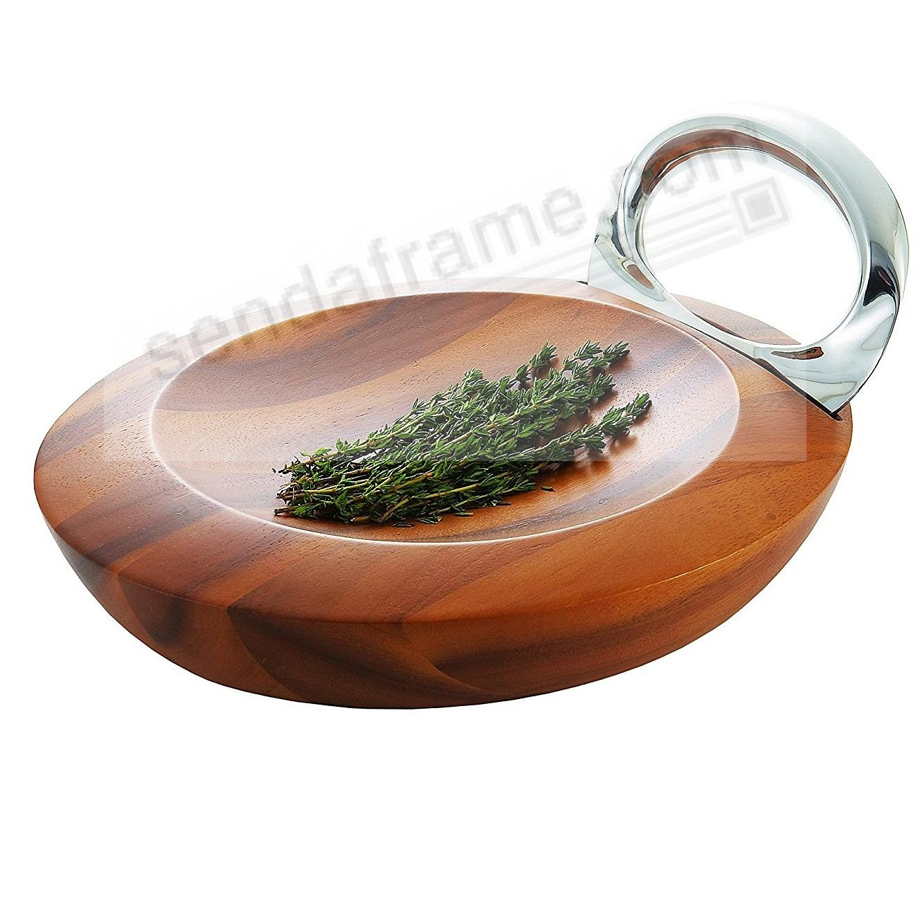 The Original HARMONY MEZZALUNA HERB CHOPPER crafted by Nambe®
