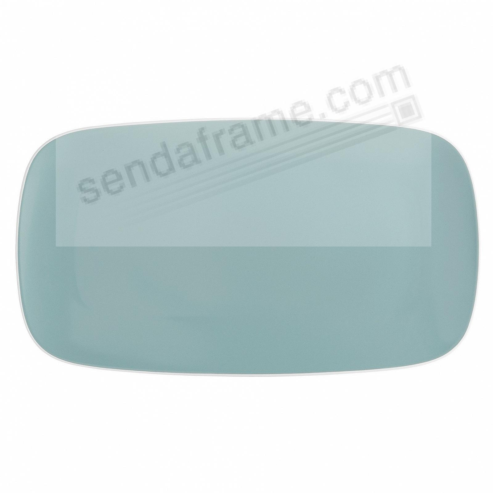 POP SOFT RECTANGULAR PLATTER OCEAN-BLUE by Nambe®