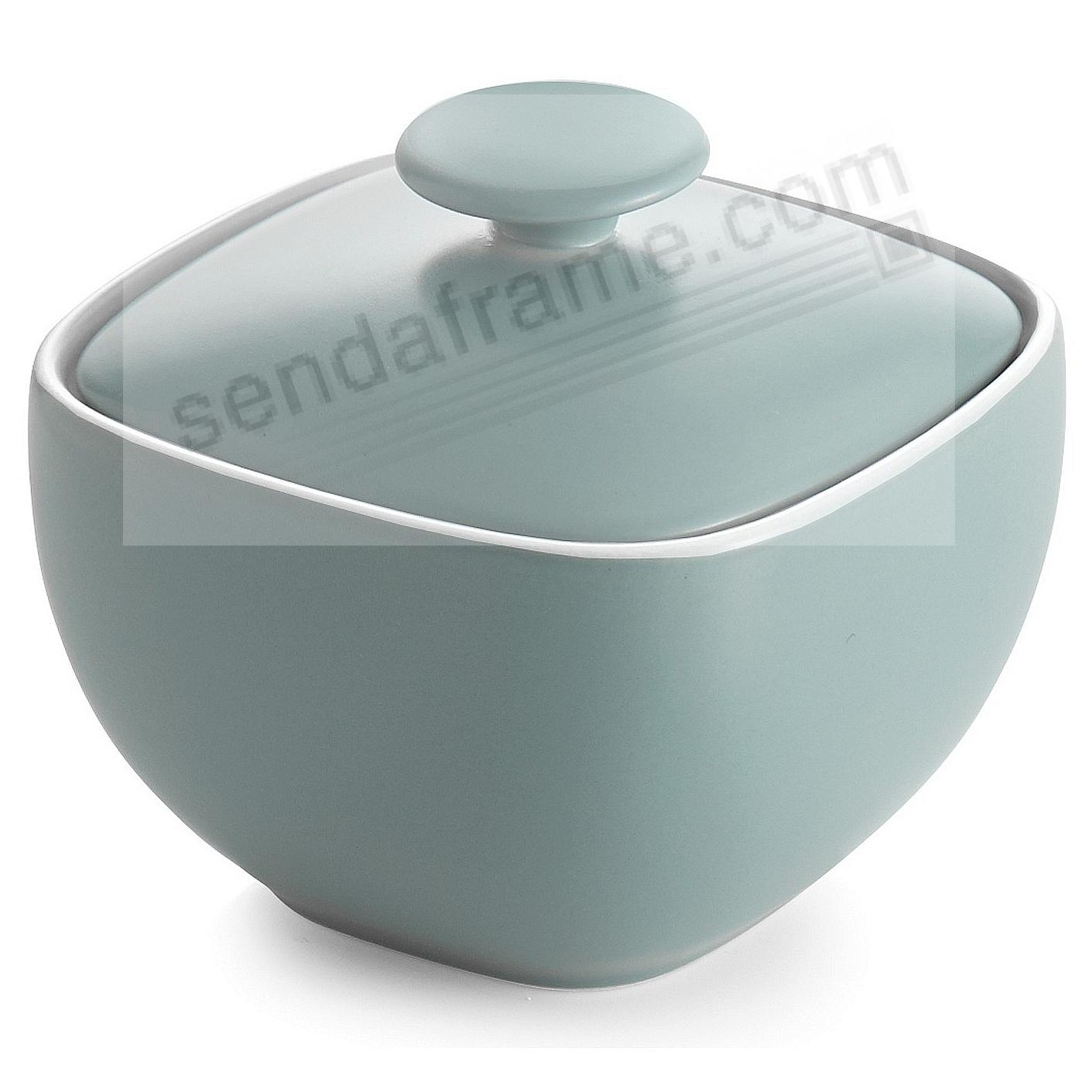 POP SUGAR BOWL OCEAN-BLUE by Nambe®