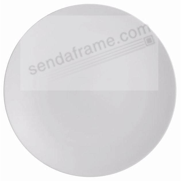 POP 13in ROUND PLATTER CHALK WHITE by Nambe®