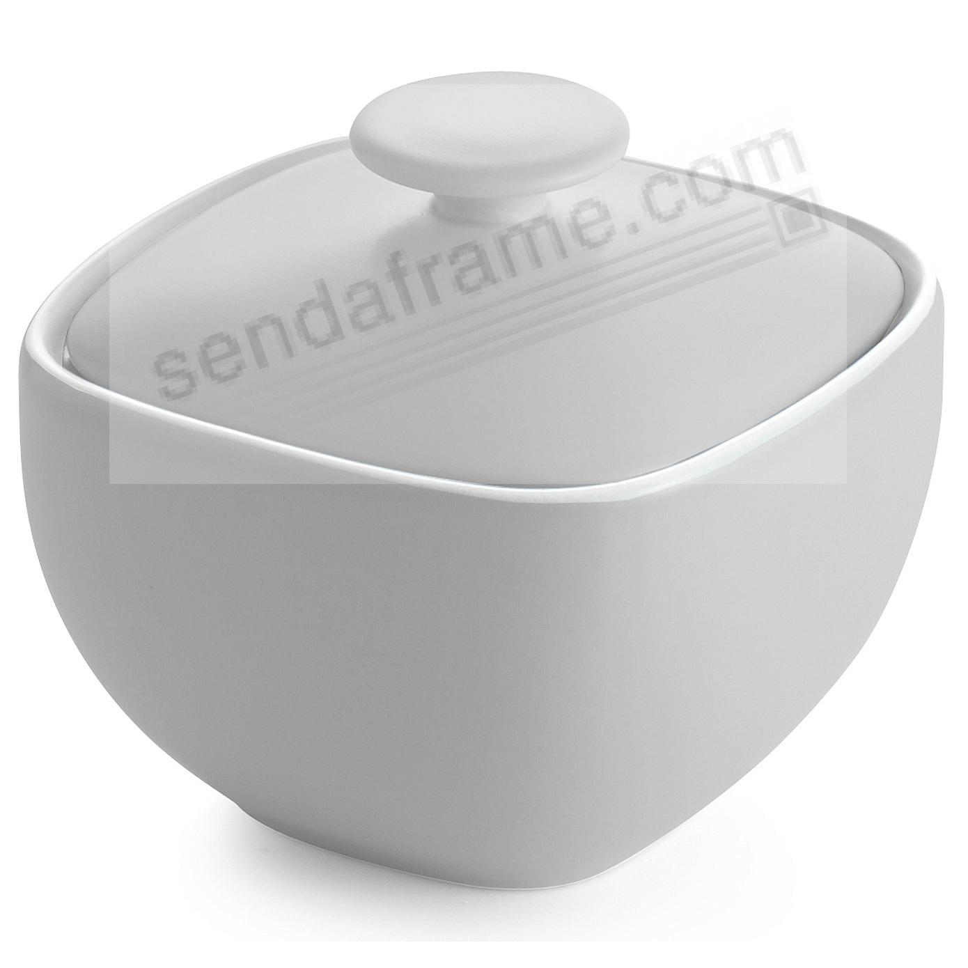 POP SUGAR BOWL CHALK-WHITE by Nambe®
