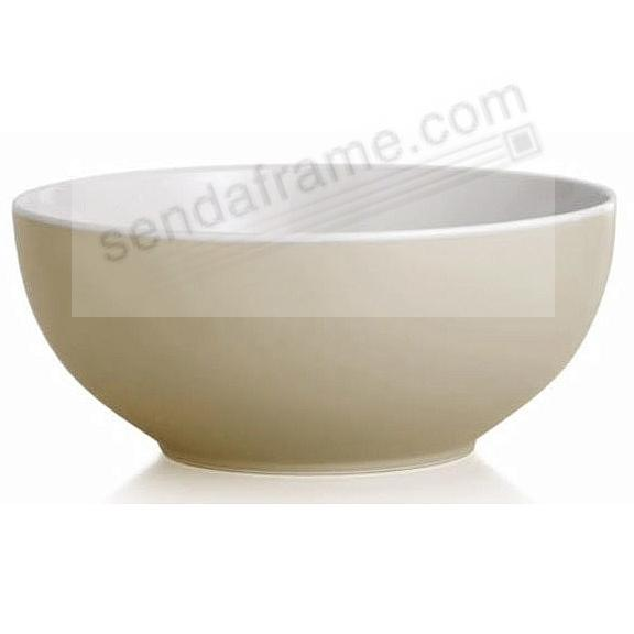 POP SERVING BOWL SAND by Nambe®