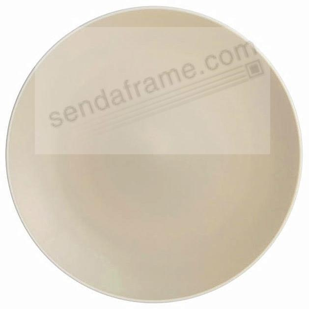 POP 13in ROUND PLATTER SAND by Nambe®