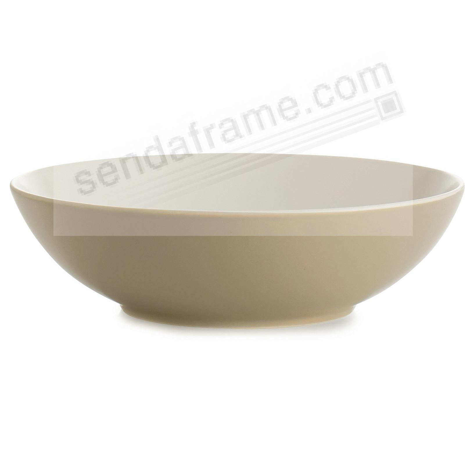 POP SOUP/CEREAL BOWL SAND by Nambe®