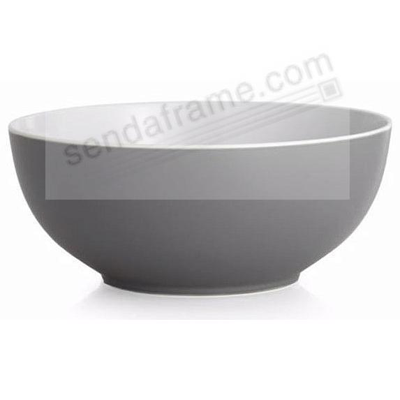 POP SERVING 9in BOWL SLATE-GREY by Nambe®