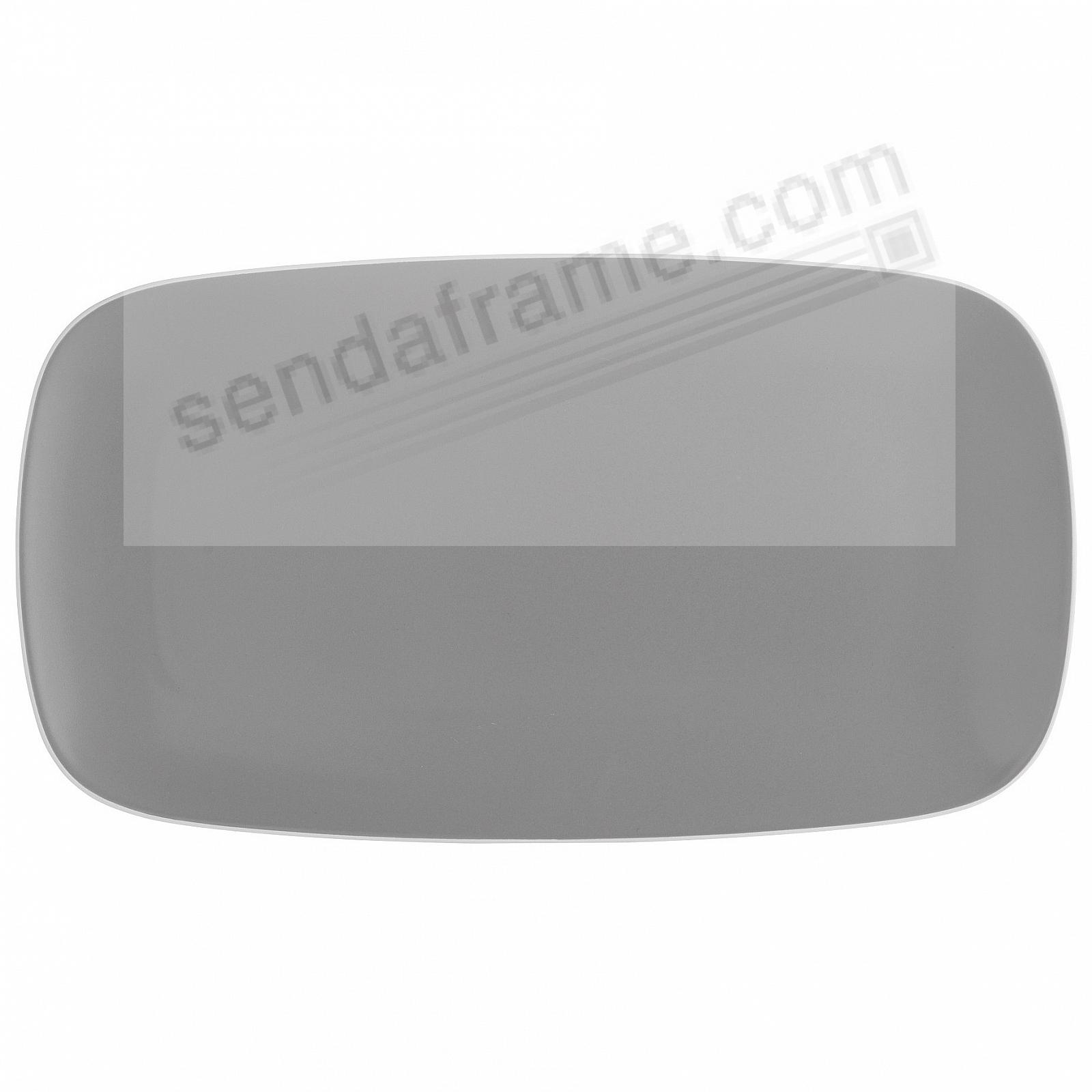 POP SOFT RECTANGULAR PLATTER SLATE-GREY by Nambe®
