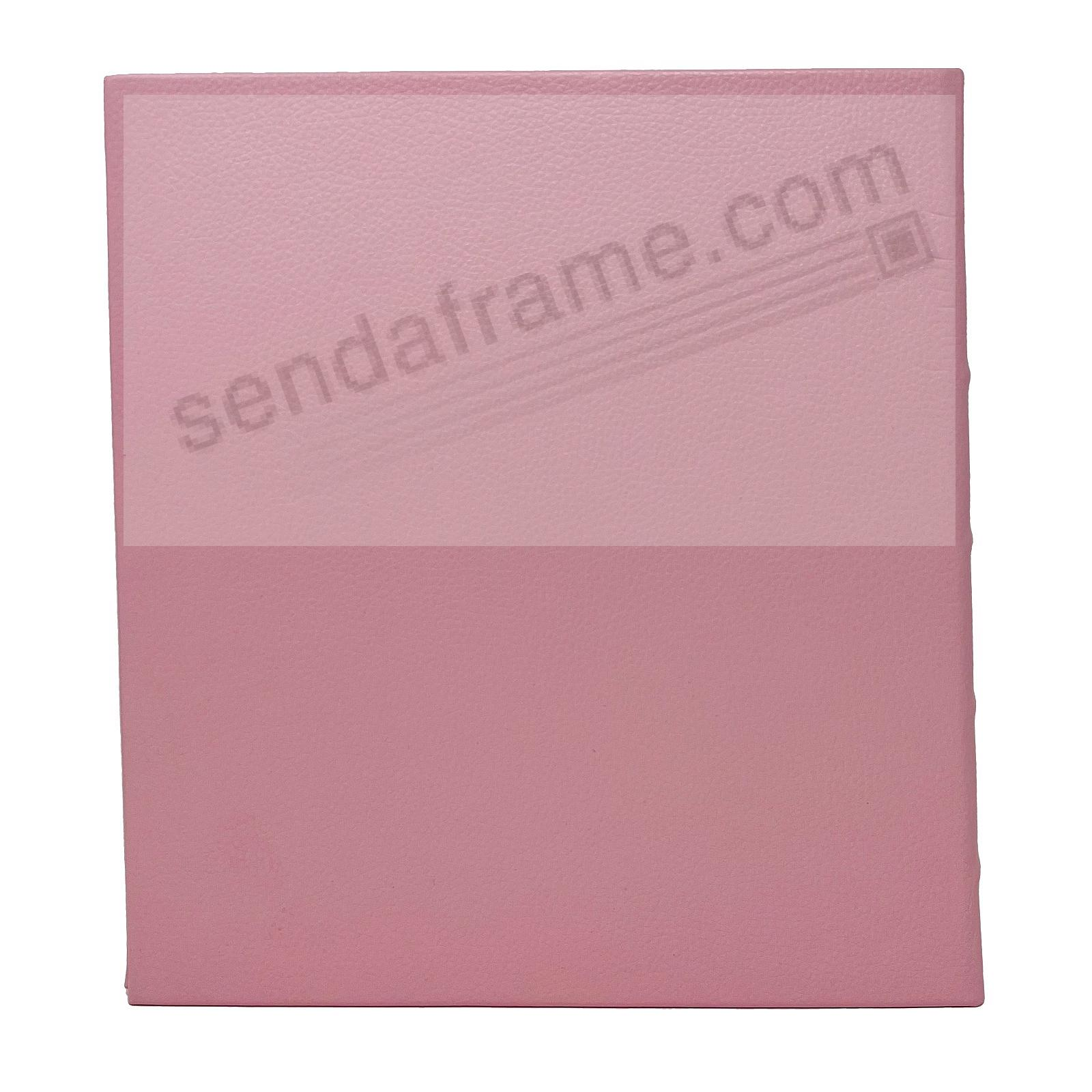 Standard 3-ring Baby-Pink eco-leather album (unfilled) by Graphic Image™