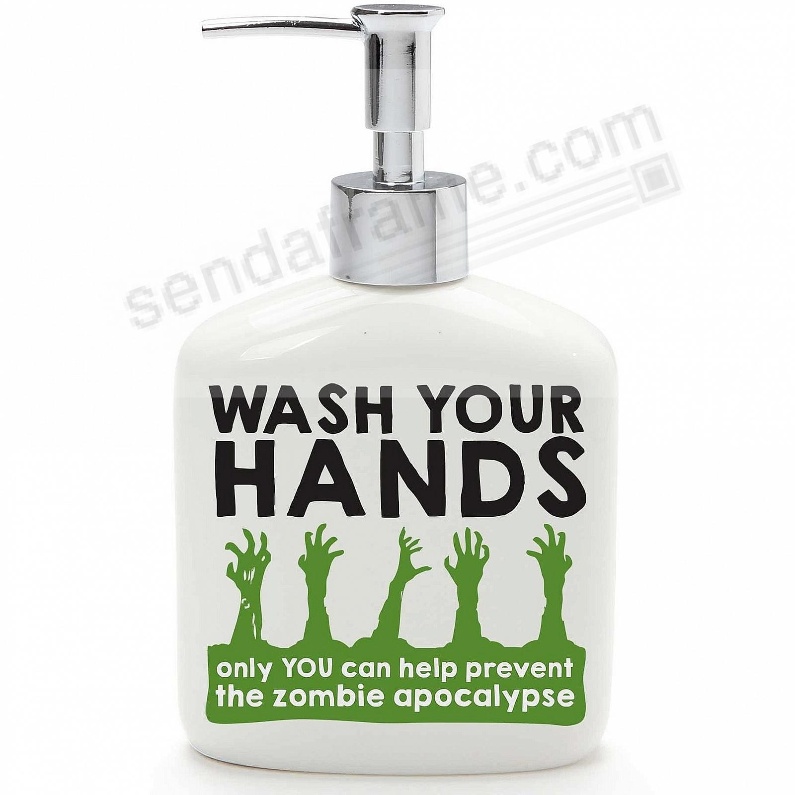 ZOMBIE SOAP PUMP by Our Name is Mud®