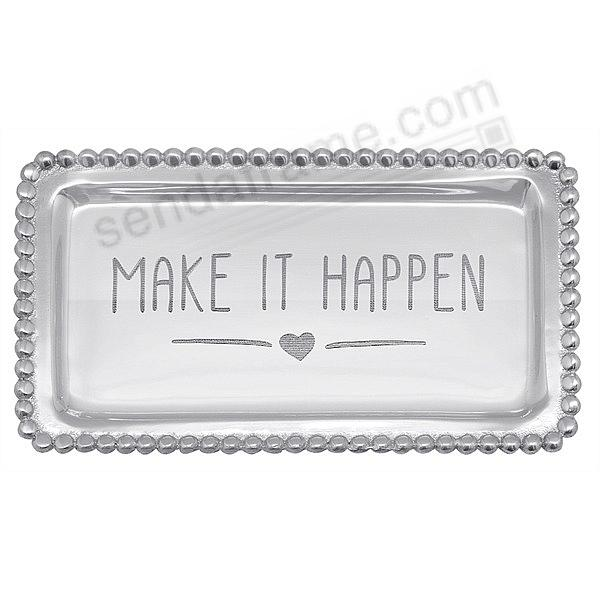 MAKE IT HAPPEN {HEART} STATEMENT TRAY by Mariposa®
