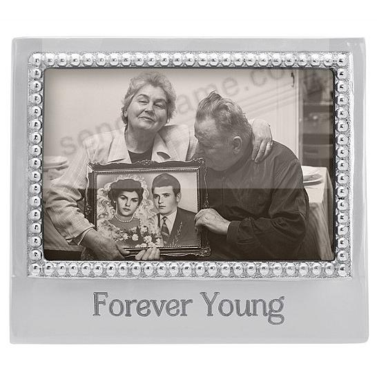 FOREVER YOUNG STATEMENT 6x4 frame by Mariposa®