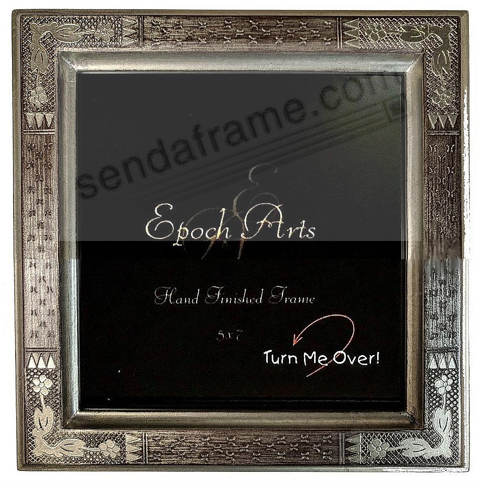 IMPRESSIONIST Silver wood antique reproduction by Epoch Arts®