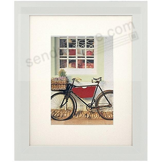 White CASA Wood 11x14/8x10 Matted Frame from ARTCARE® by Nielsen®
