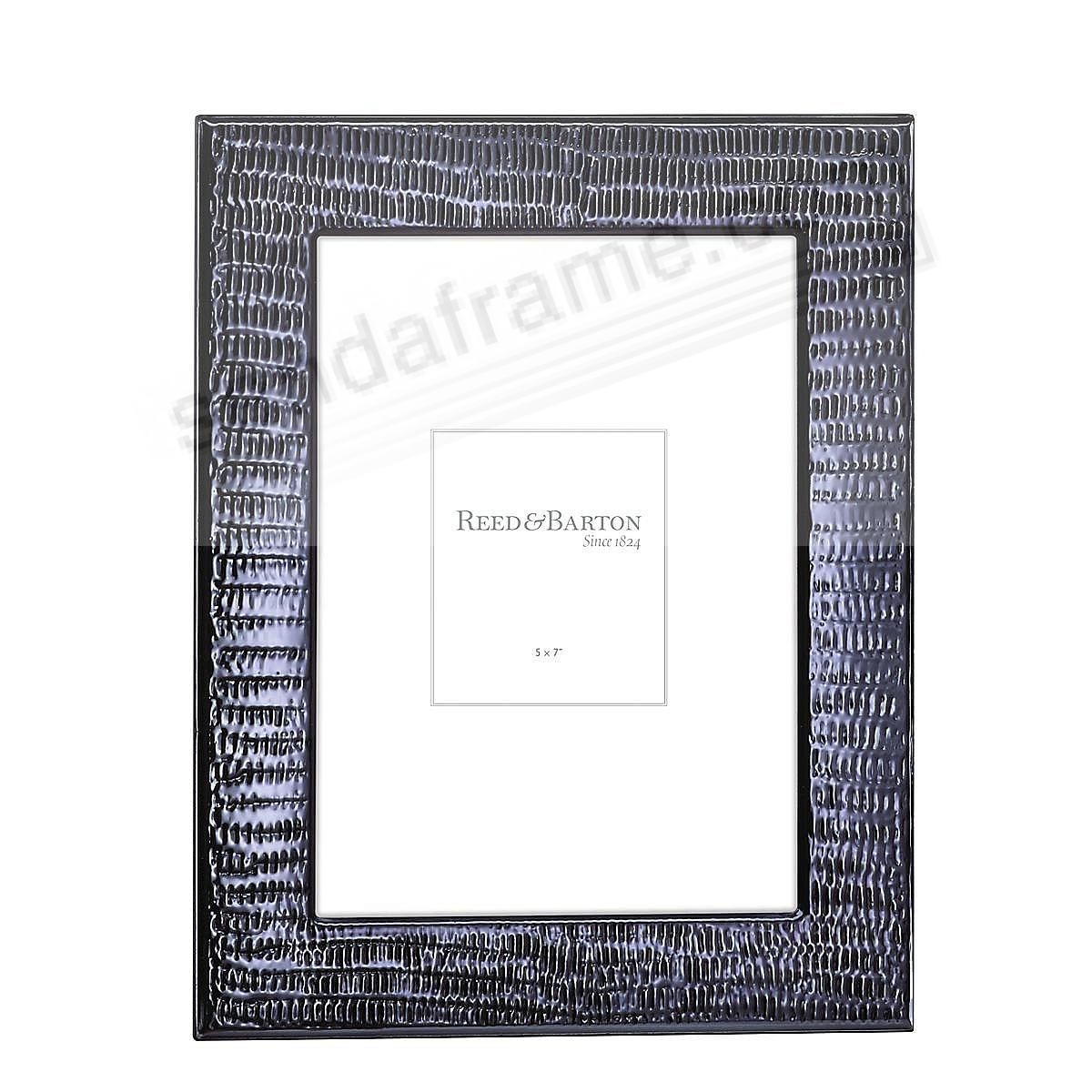 ONDE BLU 5x7 Silverplate Frame by Reed & Barton