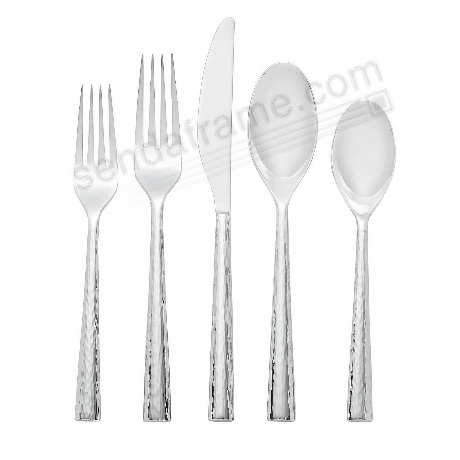 The TRACE 5PC Flatware Set by Nambe®