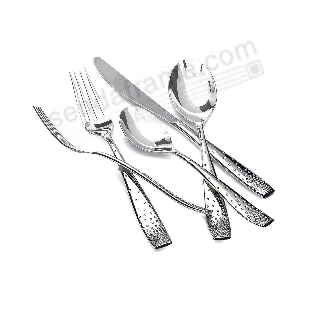 The DAZZLE 5PC Flatware Place Setting by Nambe®