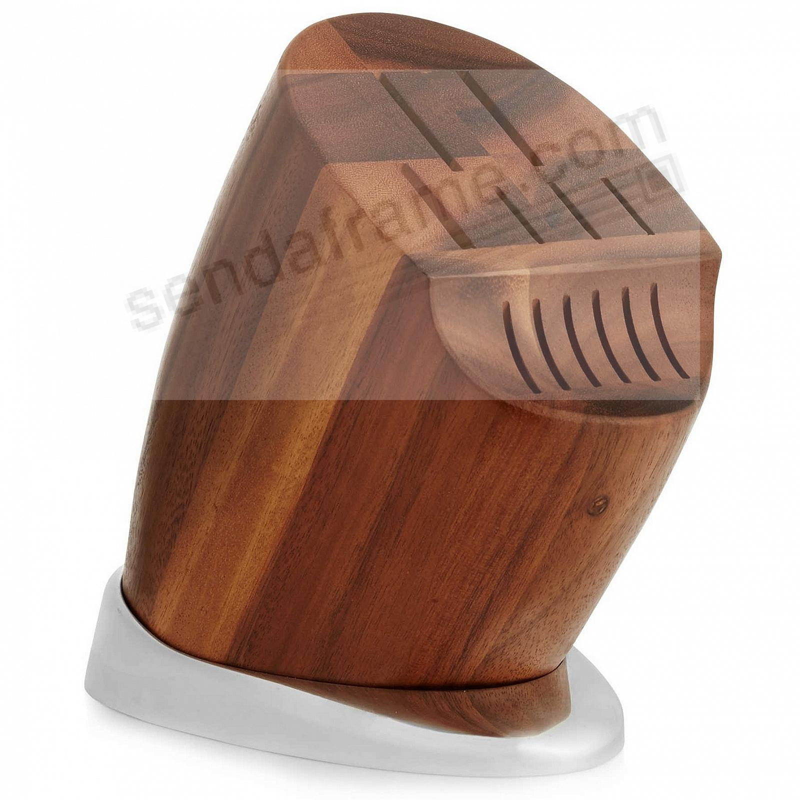 The BREEZE KNIFE BLOCK by Nambe®