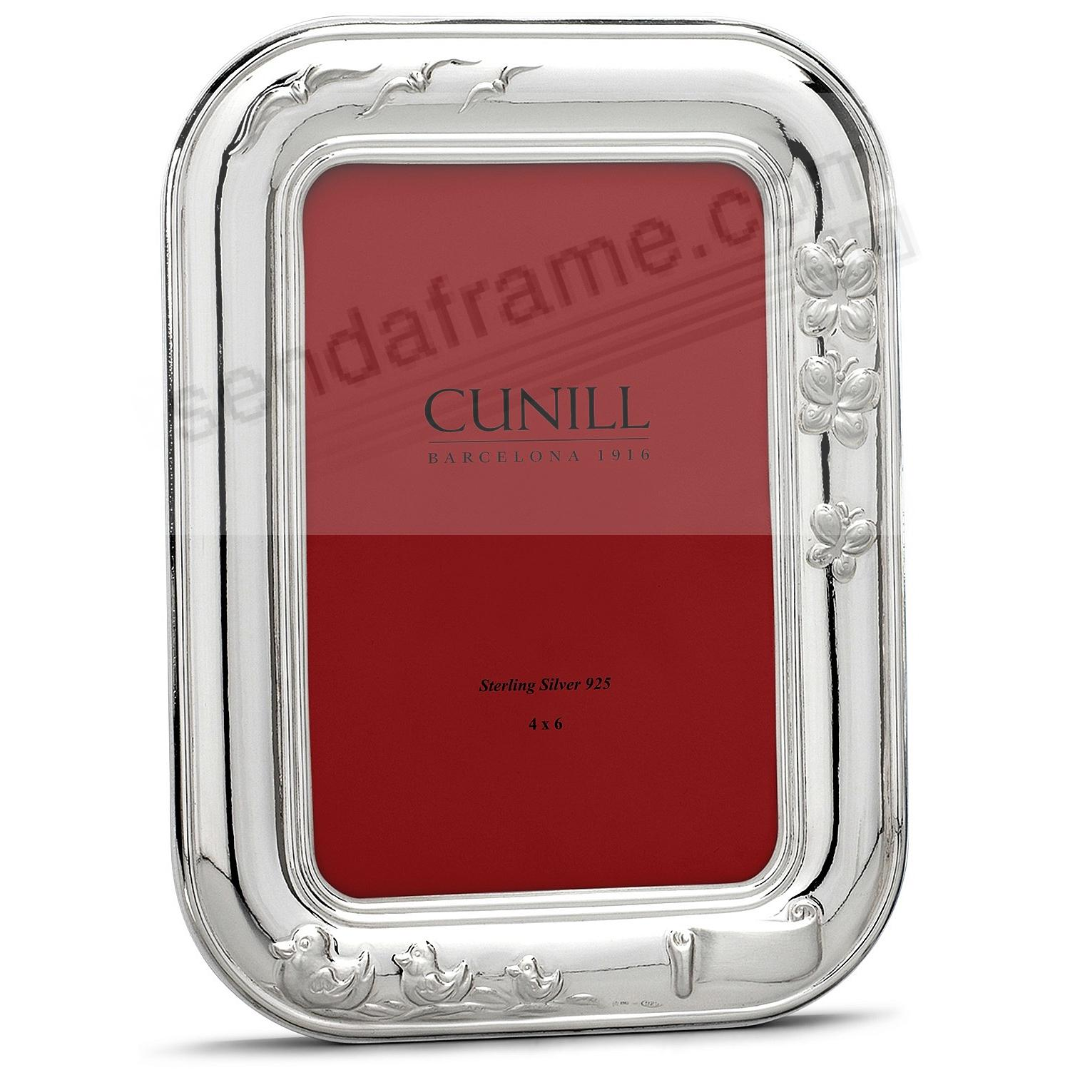 SPRING DAY in Fine Sterling Silver 4x6 Frame by Cunill® Italy