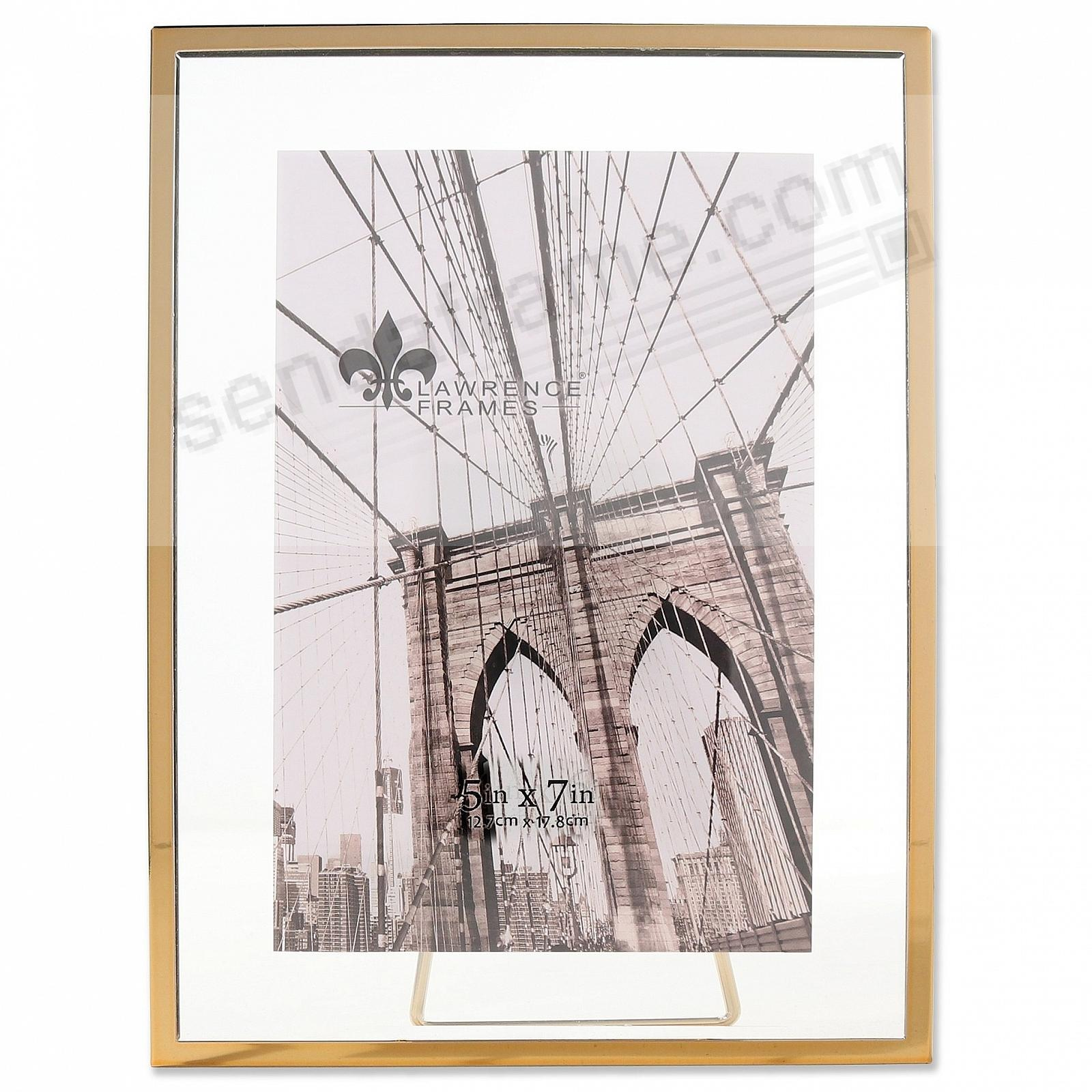 GARETT GOLD Metal Float 5x7 Frame by Lawrence®