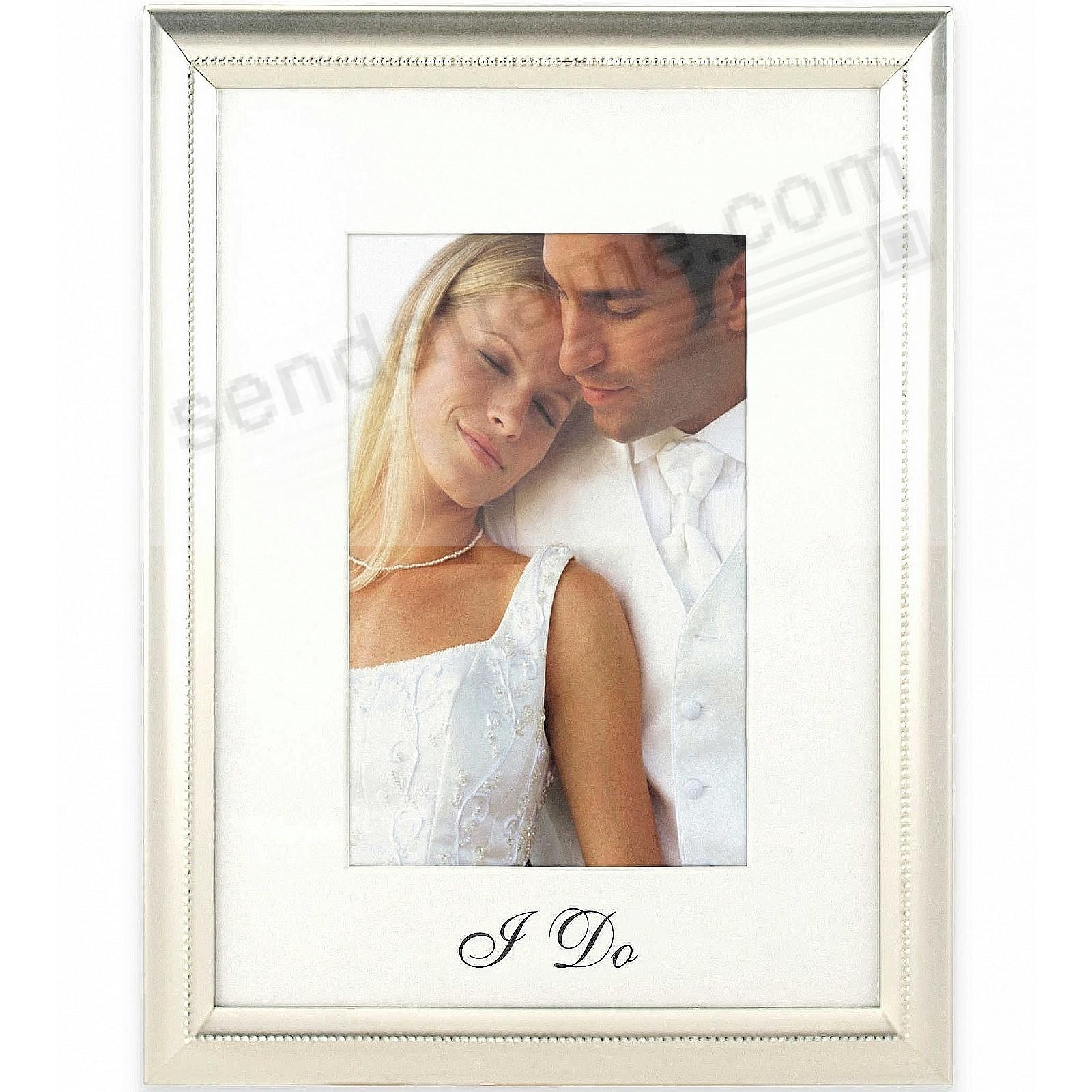 I DO Special WEDDING gift 8x10/5x7 frame by Malden®