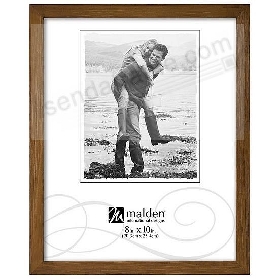 CHESTNUT wood CONCEPTS 8x10 frame by Malden Designs