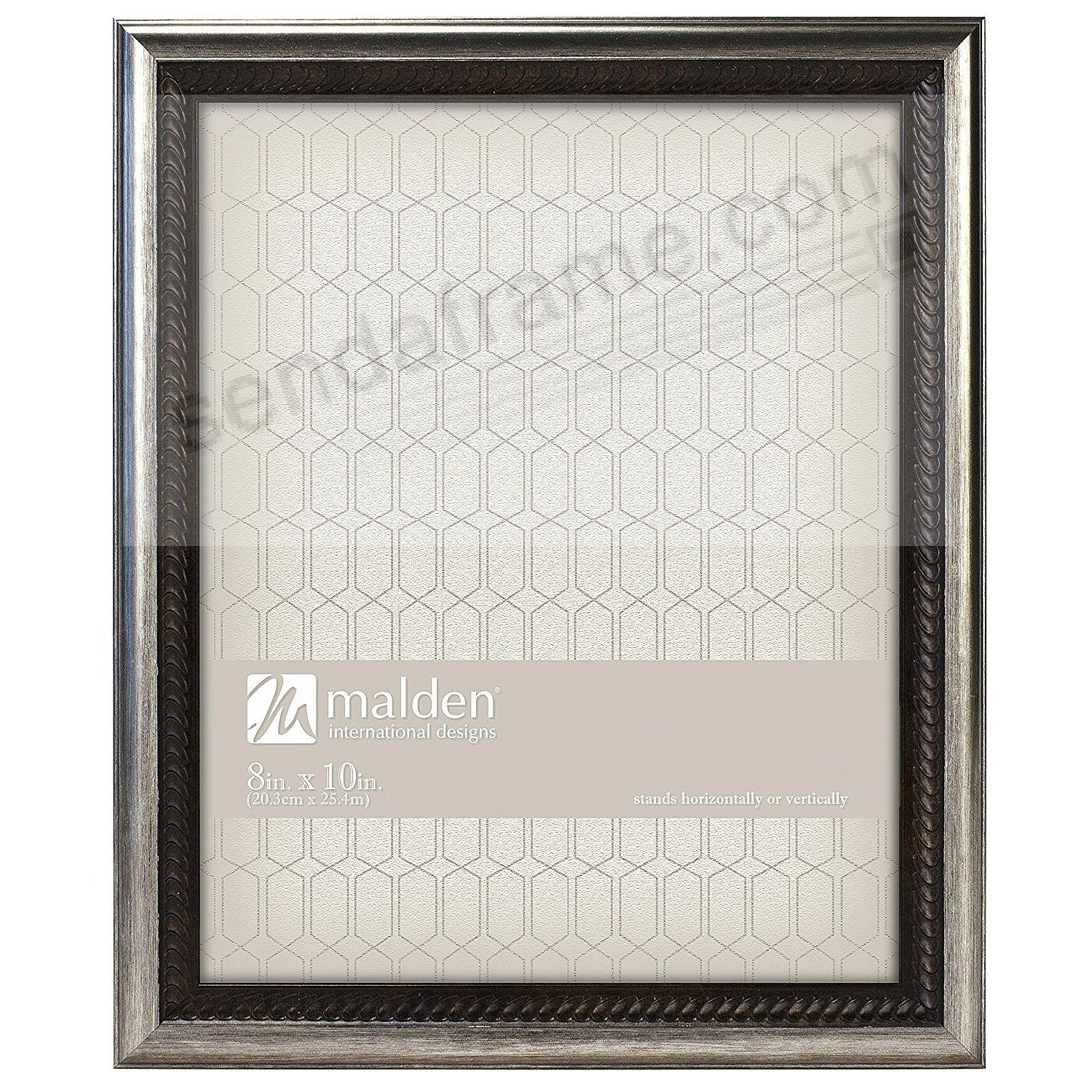 BRONZE WAVE Braid-Trim classic 8x10 by Malden®