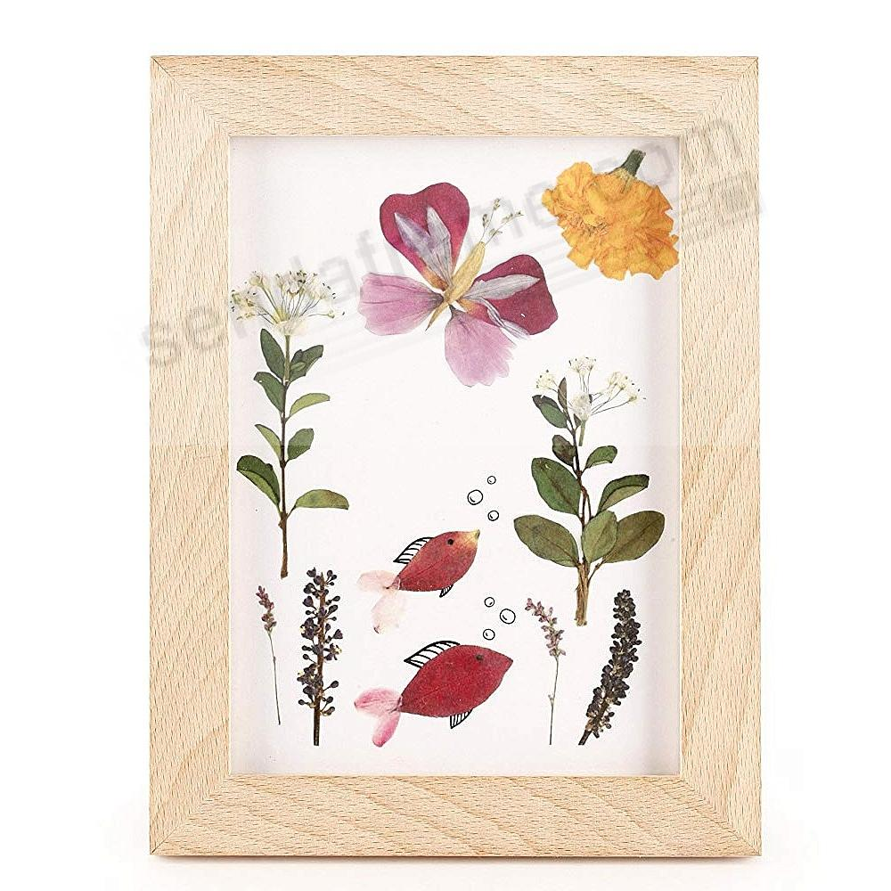 HUCKLEBERRY PRESSED FLOWER frame by Kikkerland®