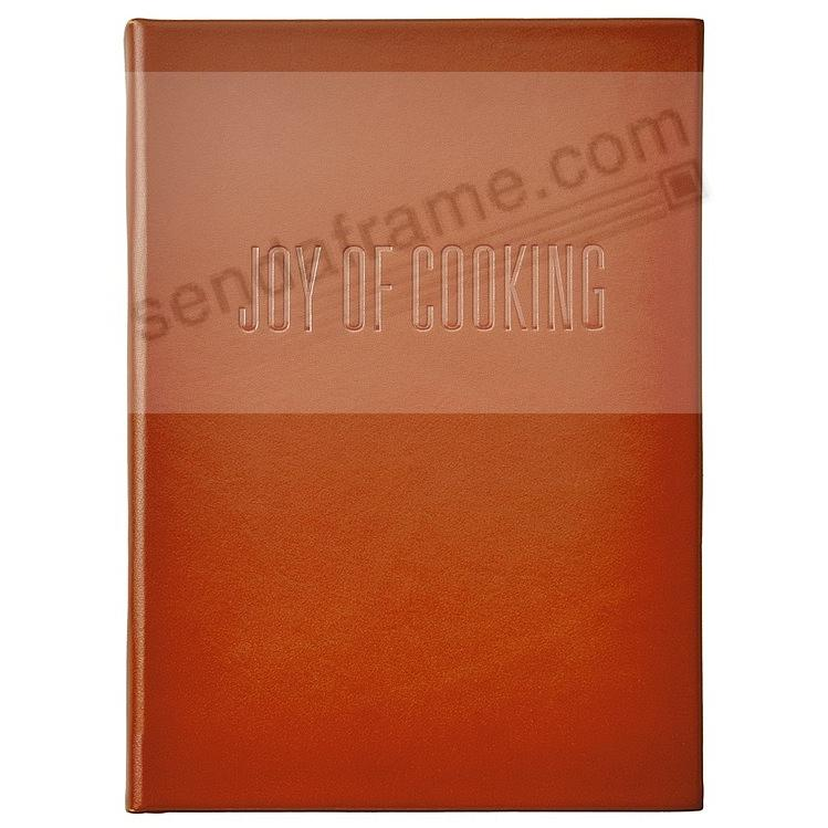 (THE) JOY OF COOKING Luxe Grain Rust Vachetta Leather by Graphic Image™