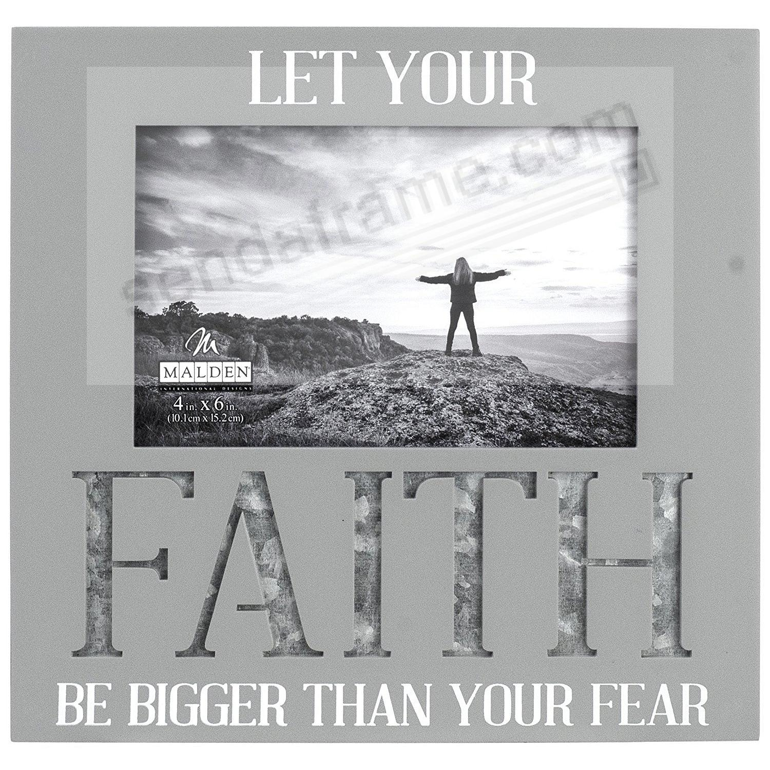 LET YOUR FAITH BE BIGGER THAN YOUR FEAR by Malden®