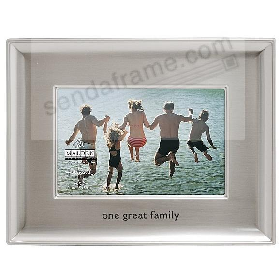ONE GREAT FAMILY by Malden Designs®