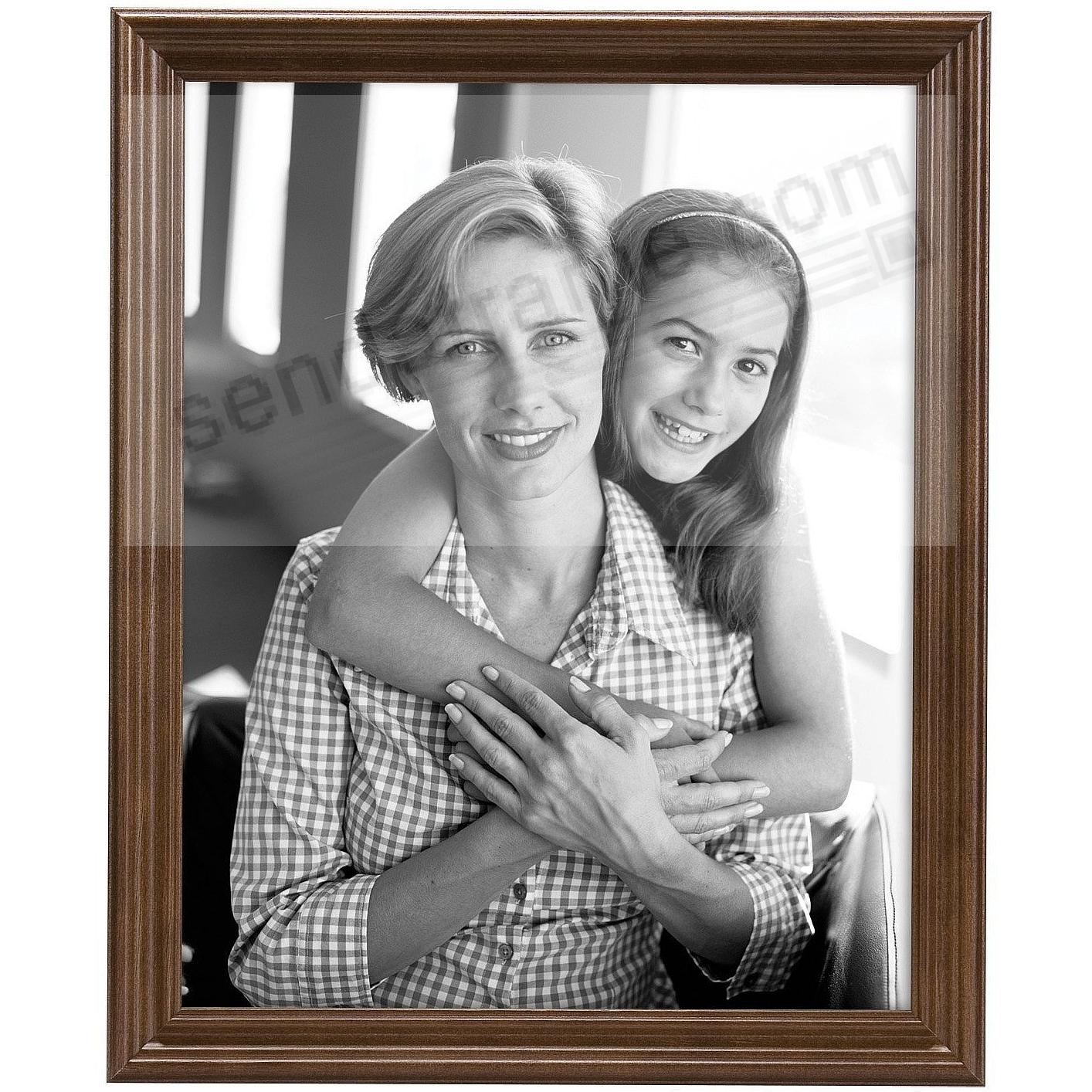 STYLE ONE Walnut Solid Wood 5x7 frame from MCS®