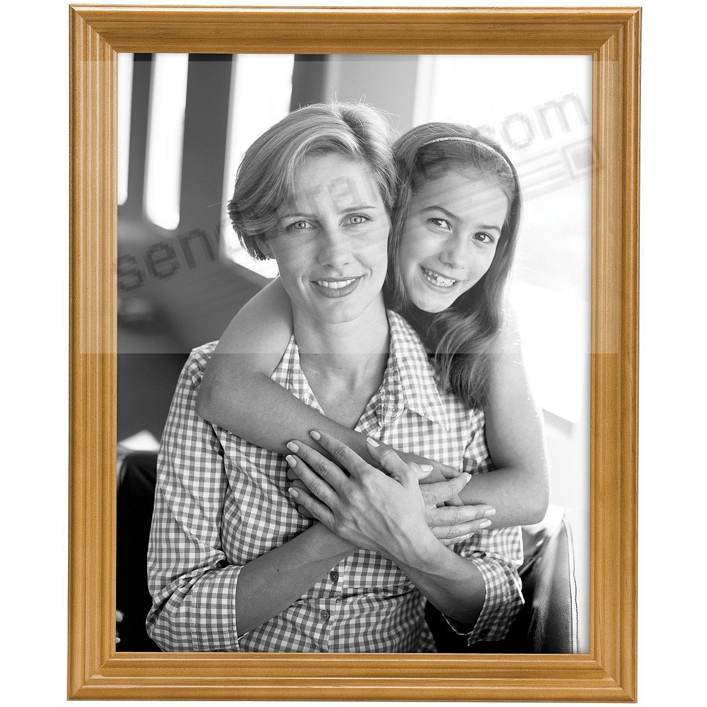 STYLE TWO Solid Wood Oak 11x14 frame from MCS®