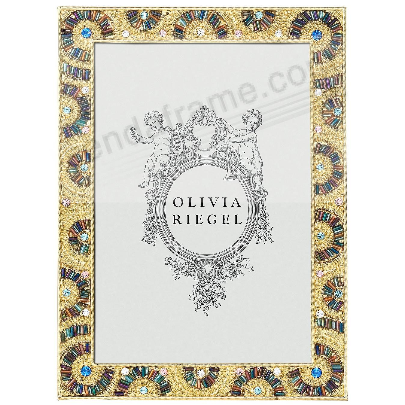 CHRISTOPER Multi-Color 5x7 frame by Olivia Riegel®