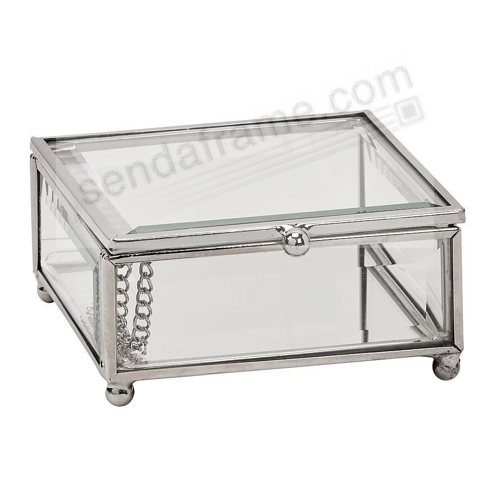 Our Glass Box 4x4x2 for special item Safekeeping