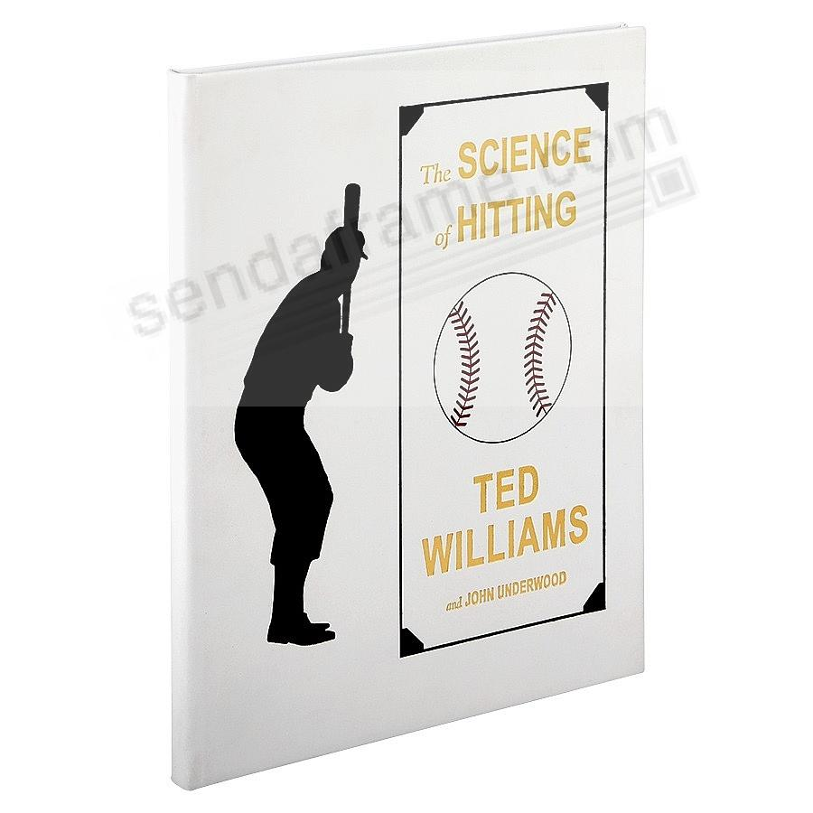 THE SCIENCE OF HITTING by TED WILLIAMS<br>Full Grain Leather Special Edition Book