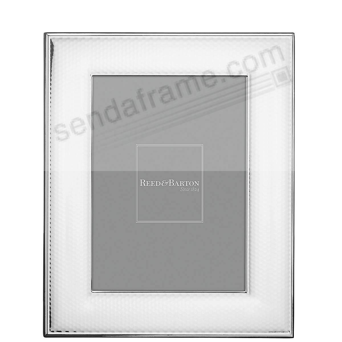 ABRUZZO Silverplate 4x6 frame by Reed & Barton®