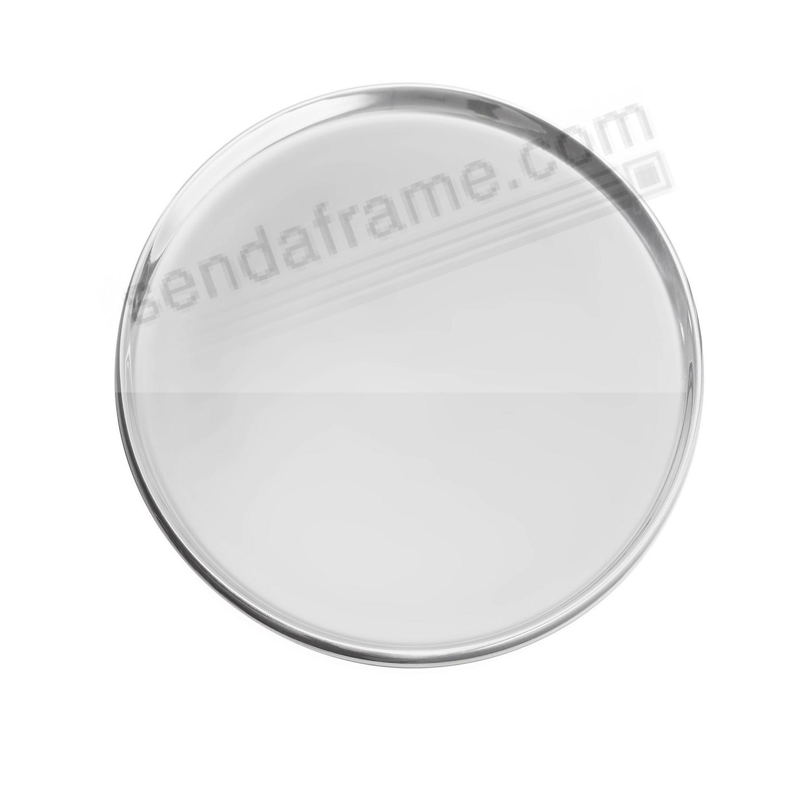 CLASSIC ROUND SERVING TRAY crafted by Nambe®