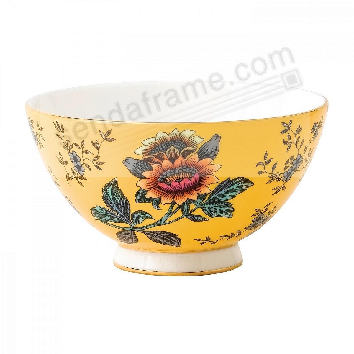 Wonderlust Yellow Tonquin 4-in Bowl by Wedgwood®